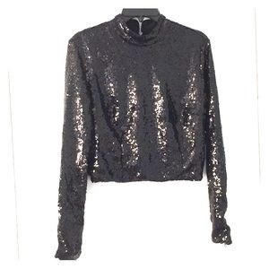 Sequins top Kendal & Kylie